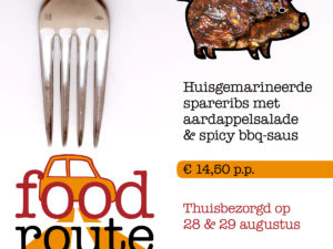 menu Food Route bekend!