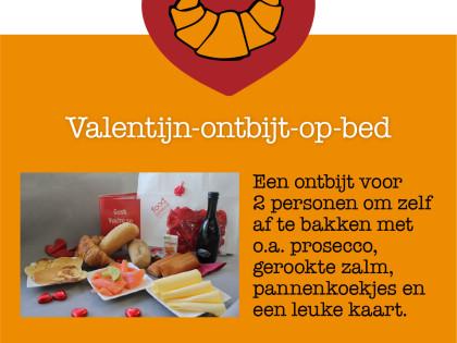 Valtijnsontbijt op bed